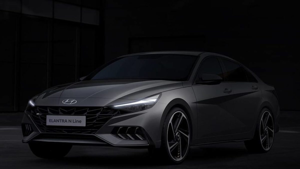 2021 Hyundai Elantra N Line sedan grey 1001×565 1