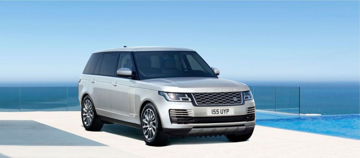 2021 Range Rover front Westminister Edition
