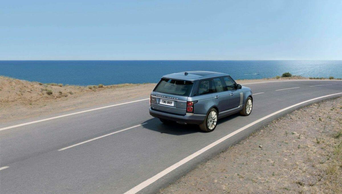 2021 Range Rover rear