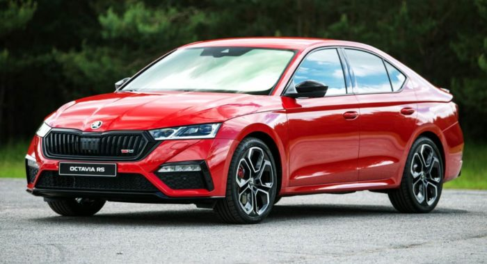 2021 Skoda Octavia RS Unveiled with Petrol and Diesel ...