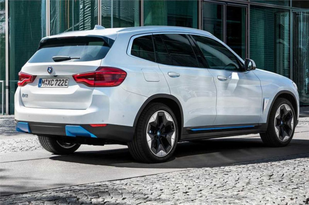 BMW iX3 electric SUV 1