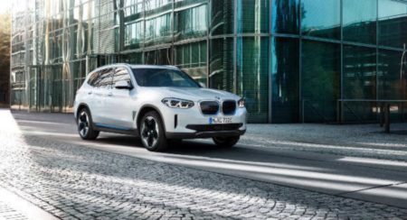 BMW iX3 electric SUV 3