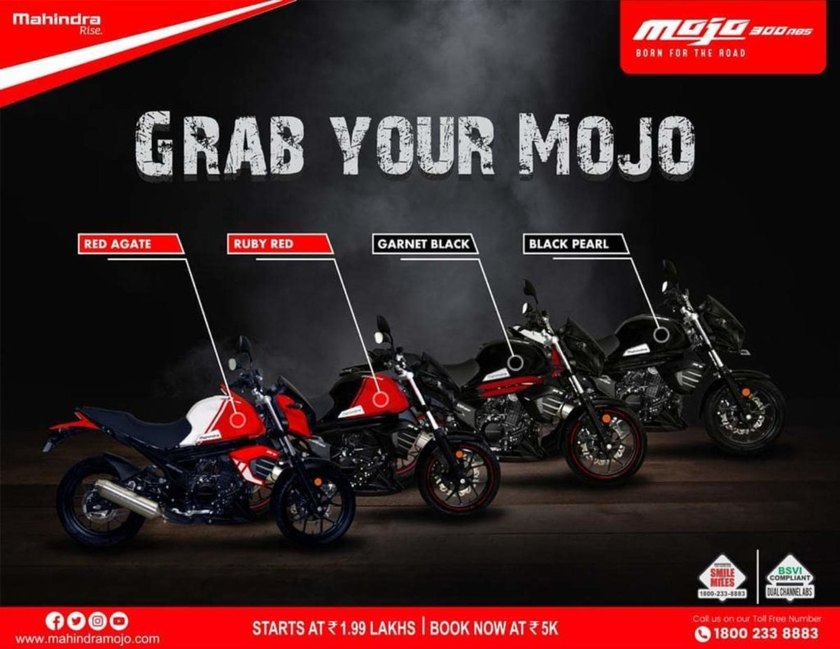 BS6 Mahindra MOjo launched