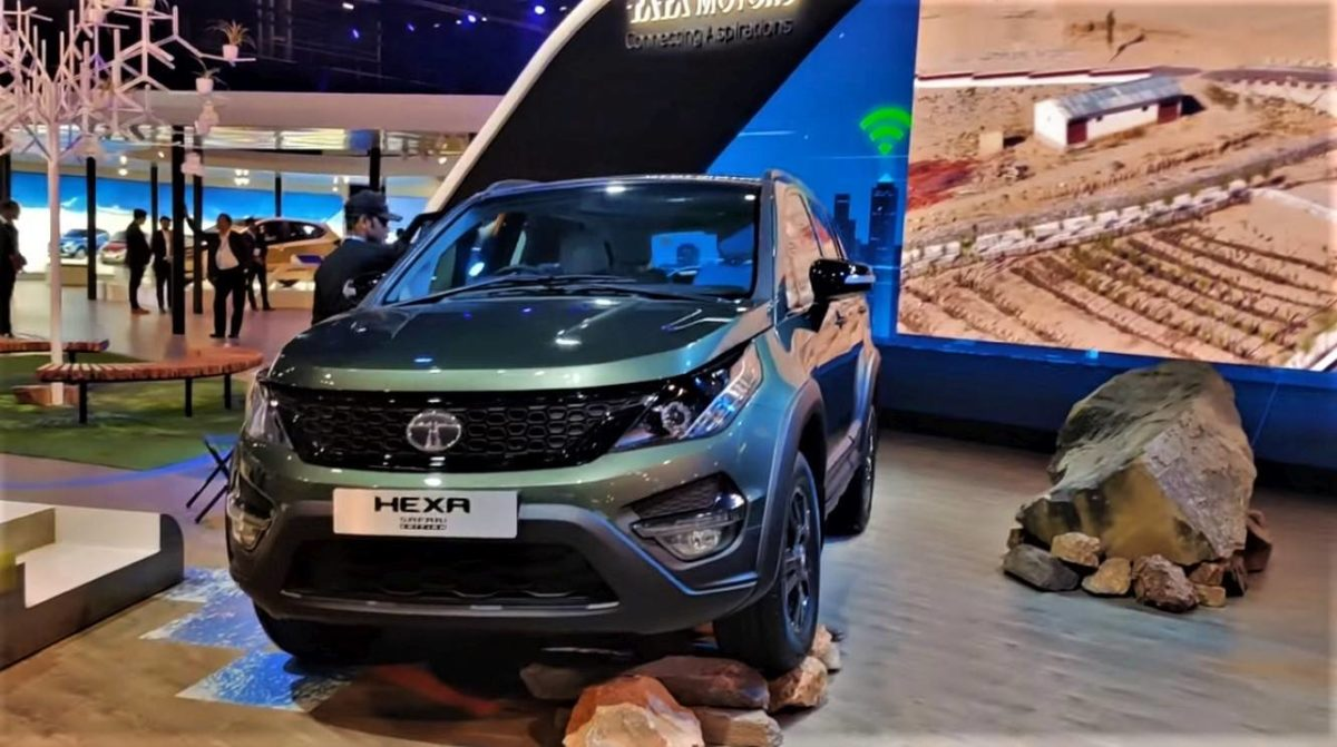 BS6 Tata Hexa Safari Edition