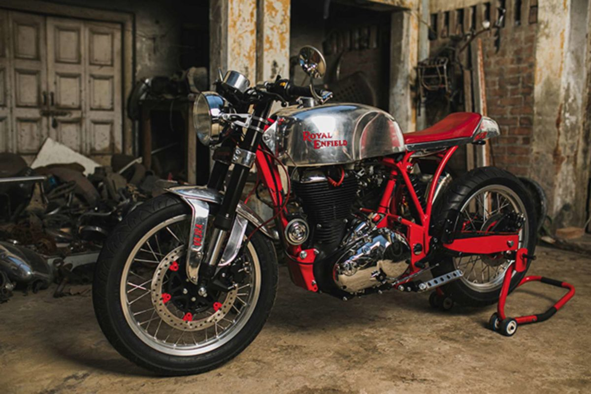 Custom Royal Enfield Vajra