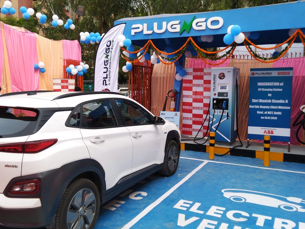 DC Fast Charger in NEw Delhi