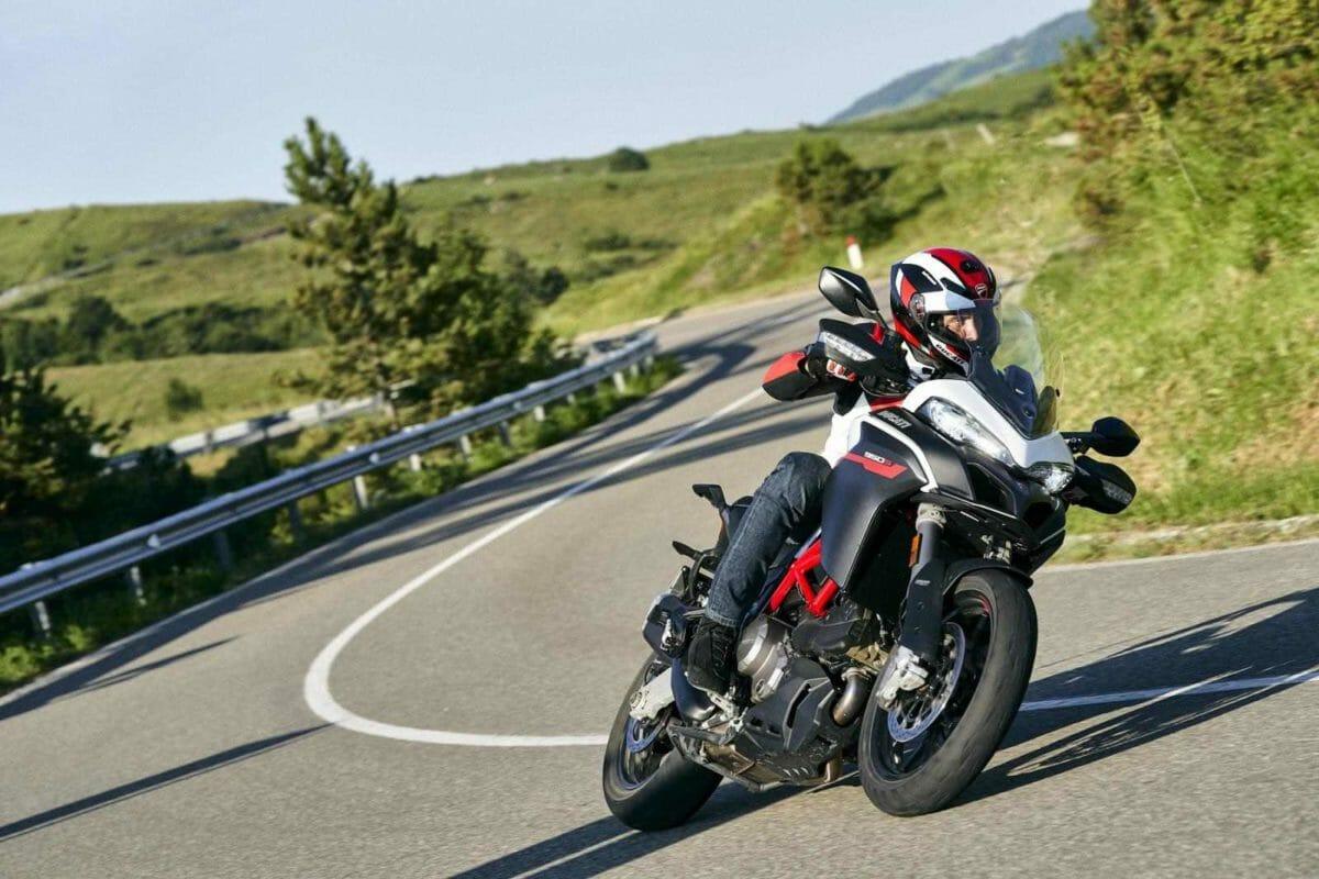 Ducati Multistrada 950 S White livery 1