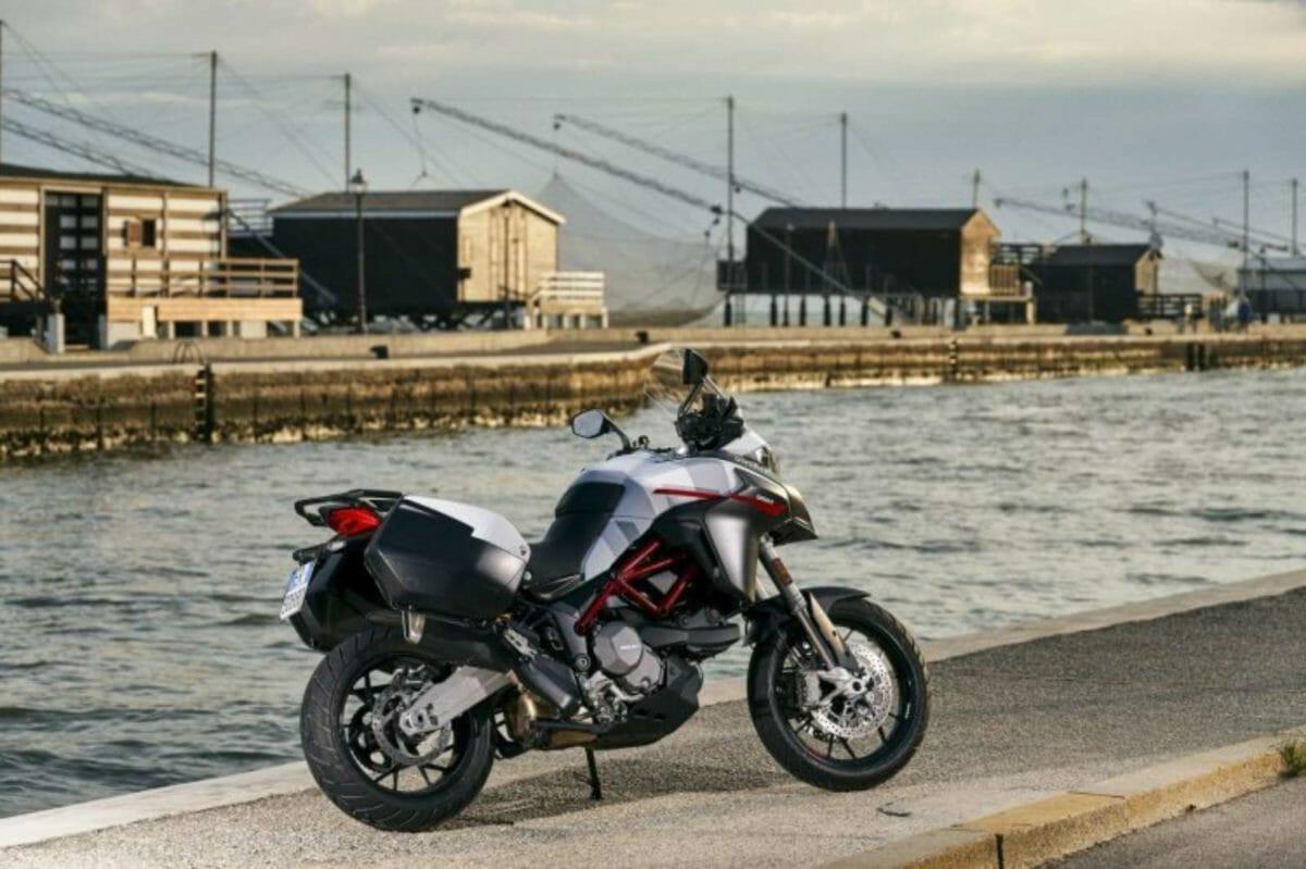 Ducati Multistrada 950 S White livery