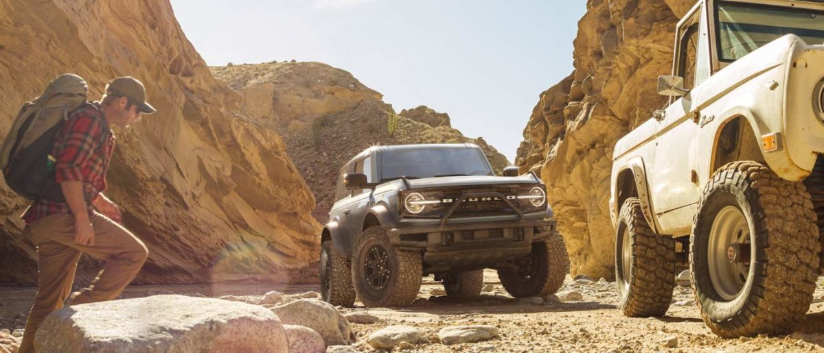 Ford Bronco revealed off road