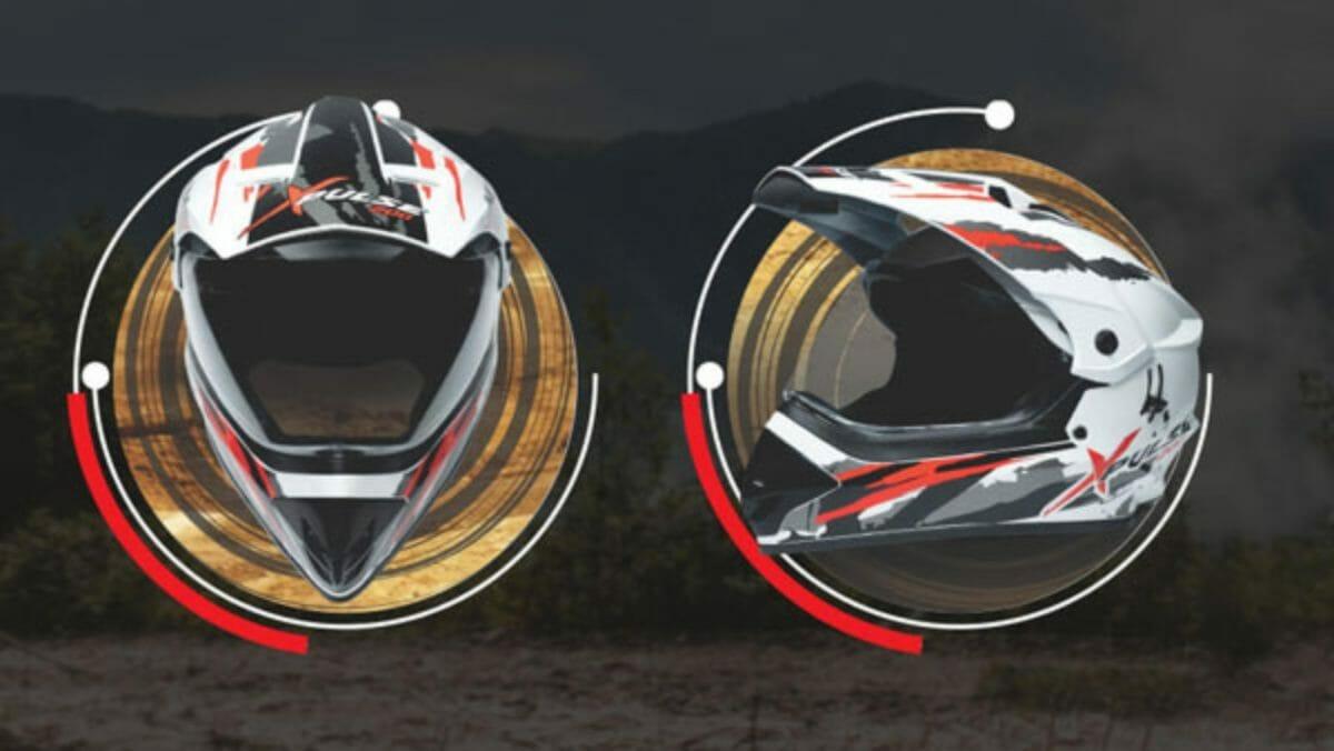 Hero Xpulse Motocross Helmet