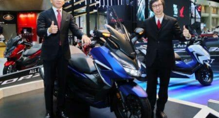 Honda Forza 350 launch