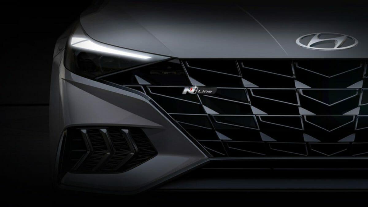 Hyundai Elantra N Line grille (1)