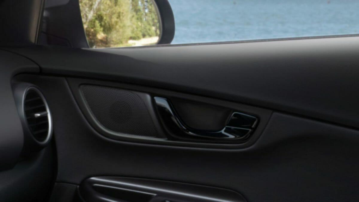 Hyundai KonaNightEdition interior