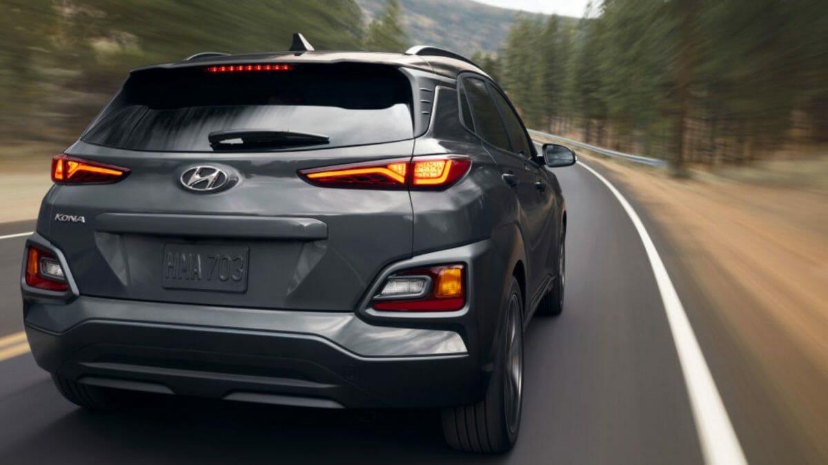Hyundai KonaNightEdition rear