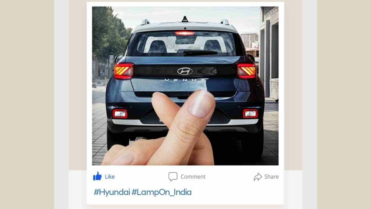 Hyundai Lamp On challenge