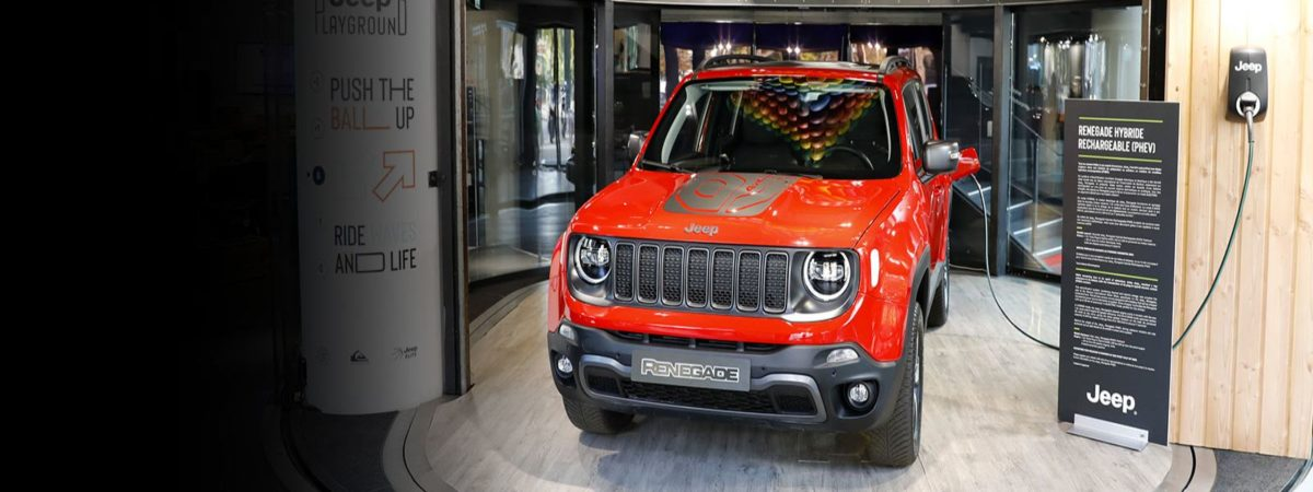 Jeep Renegade PHEV red SUV