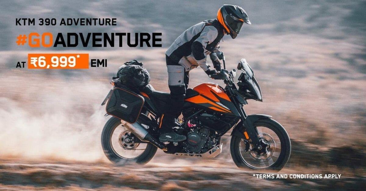 KTM 390 Adventure ownership plan