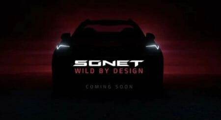 Kia Sonet New Teaser