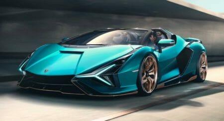 Lamborghini Sian Roadster 4