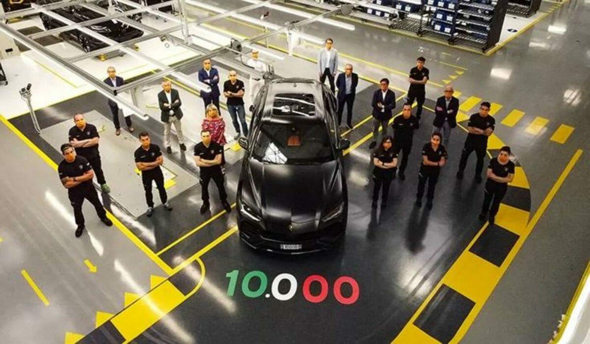 Lamborghini urus 1000th unit