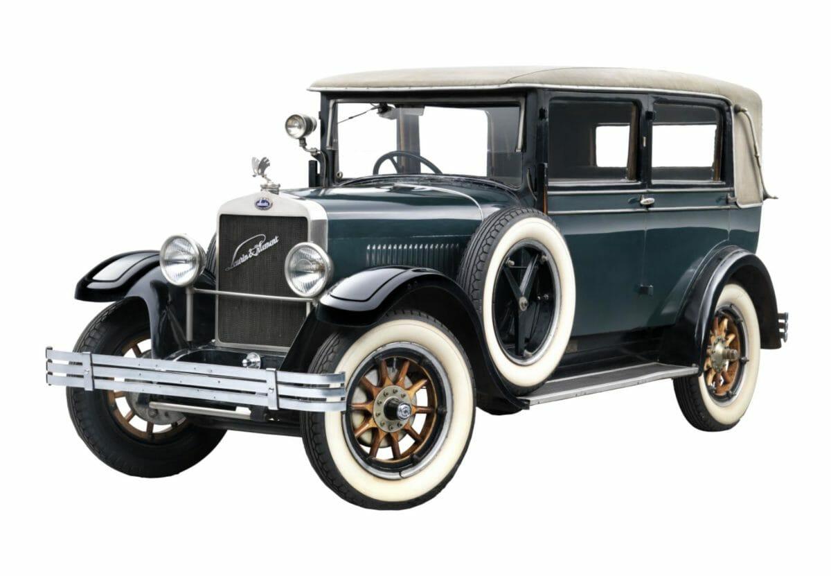 Lanren Klement Skoda car