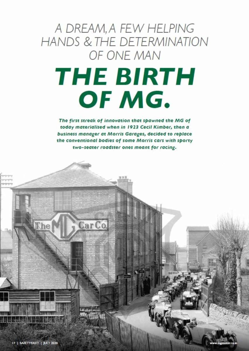 MG History Safety Fast Magazine (1)