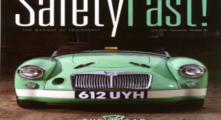 MG Safety Fast Magazine Cover