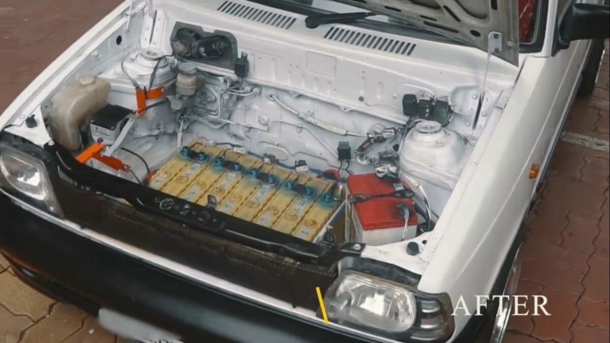 Maruti 800 Electric Vehicle 1