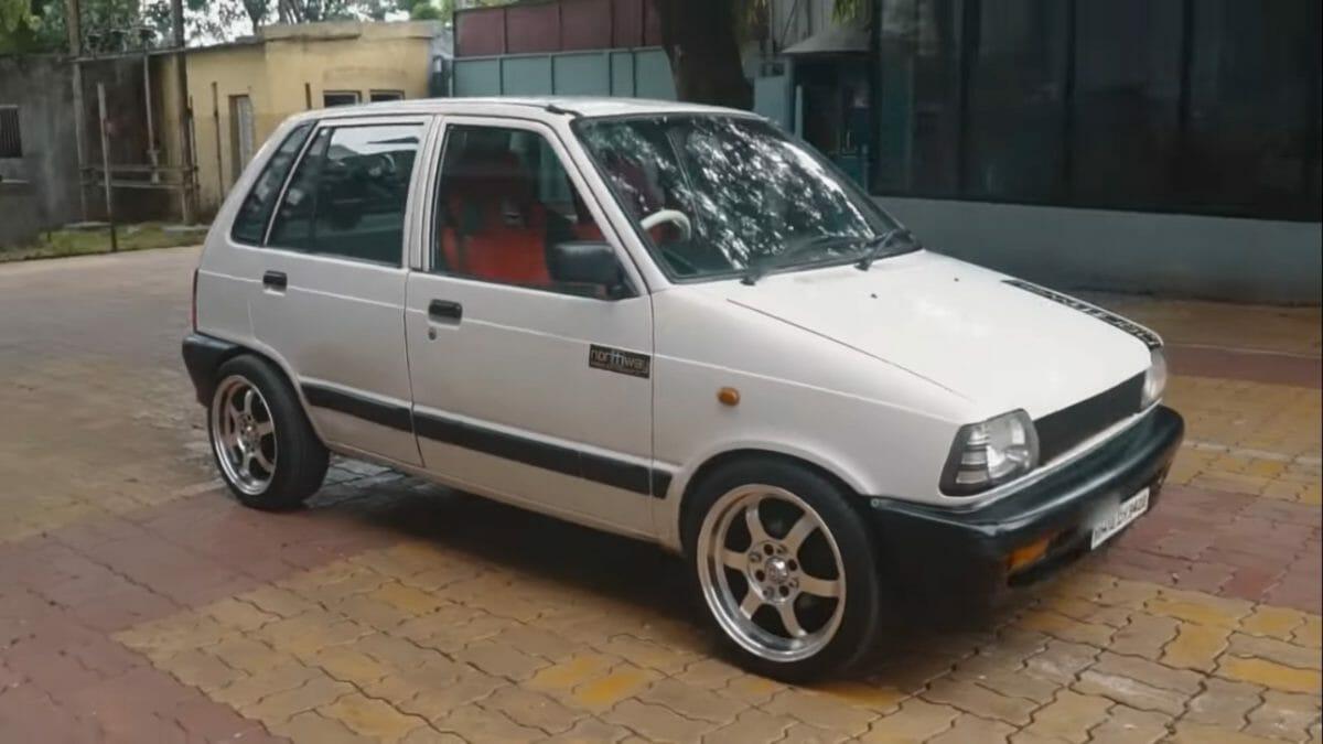 Maruti 800 Electric Vehicle 2