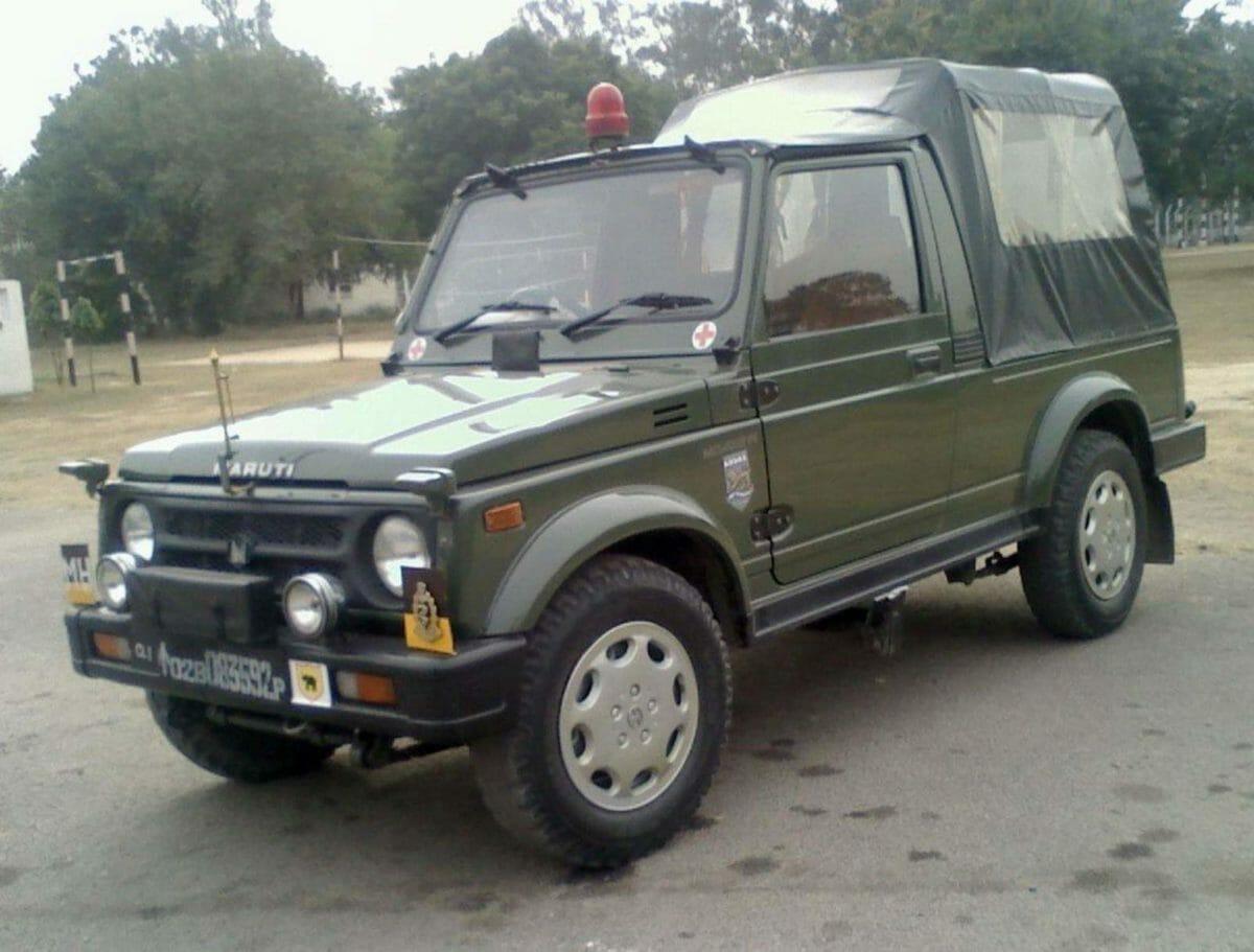 Maruti Suzuki Gypsy Indian Army (1)