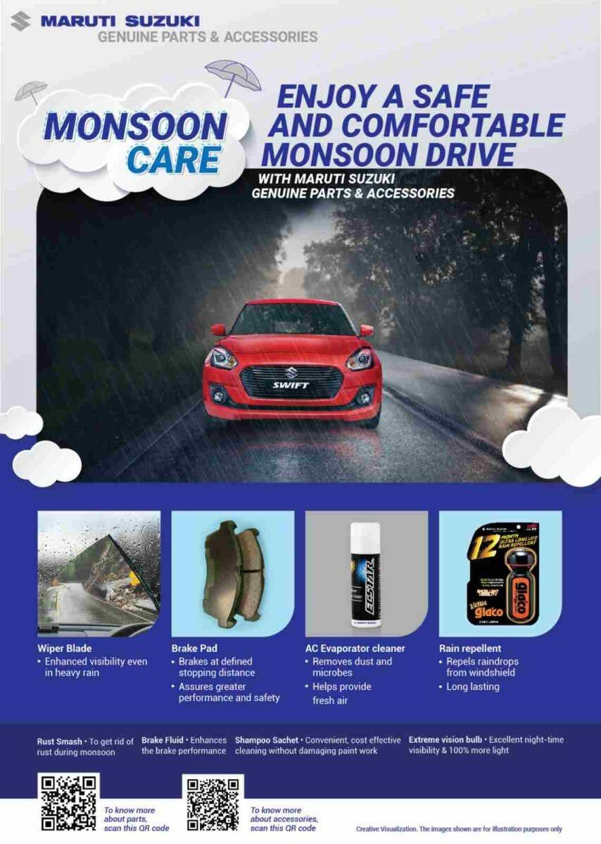 Maruti Suzuki Monsoon Check