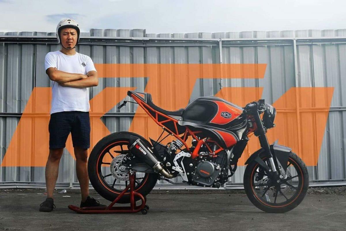 Modified KTM RC 250 1