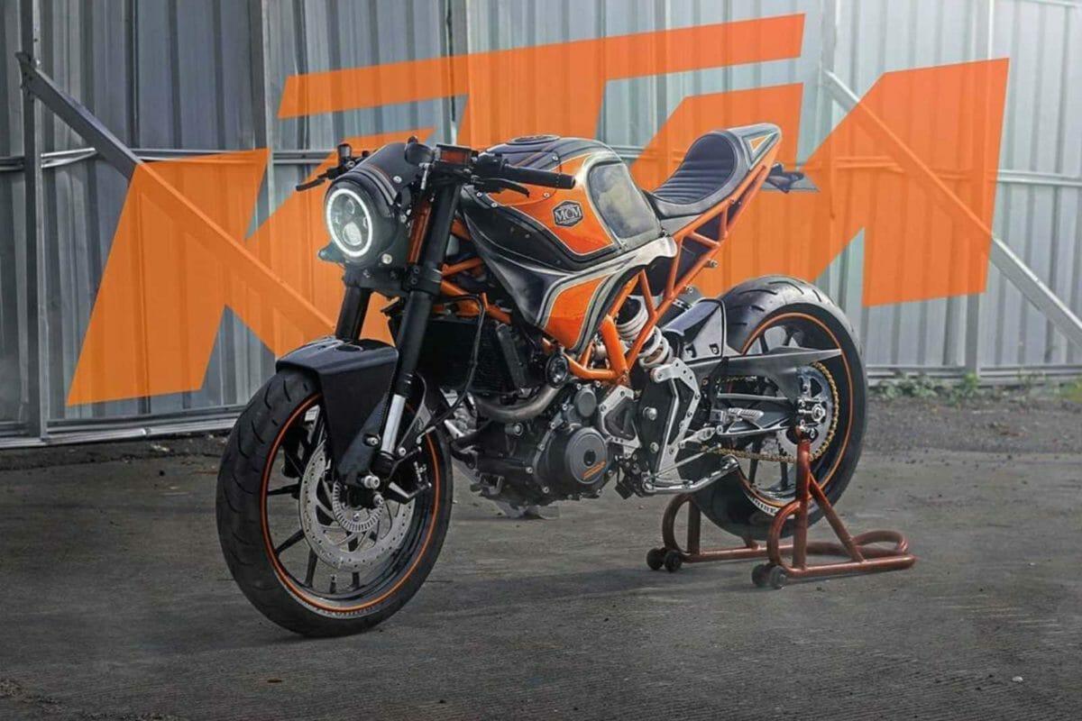 Modified KTM RC 250