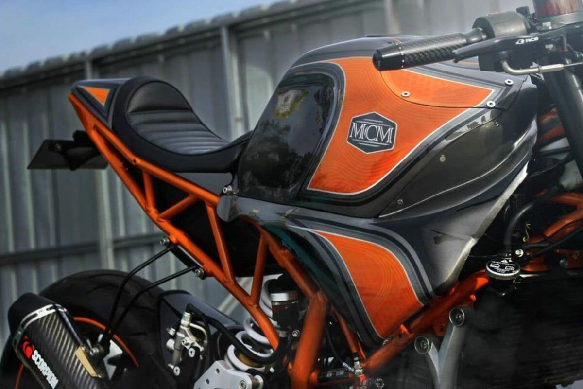 Modified KTM RC 250 2