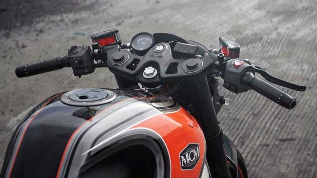 Modified KTM RC 250 3
