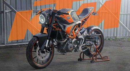 Modified KTM RC 250