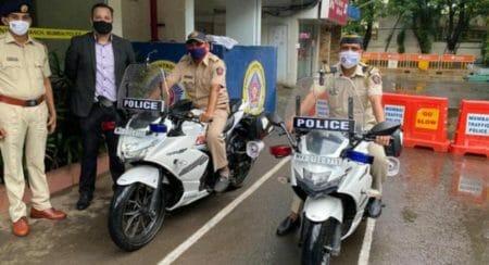 Mumbai police gixxer 250