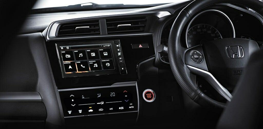 New Honnda WR V touchscreen