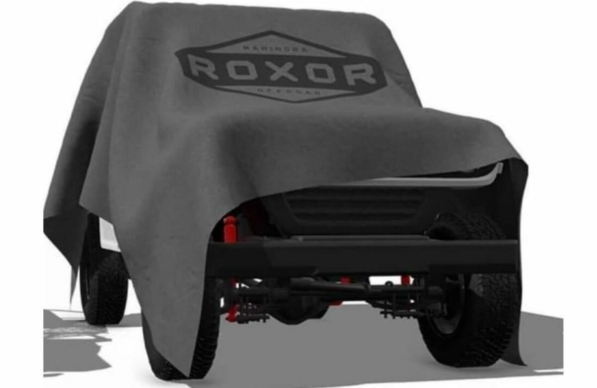 New Mahindra Roxor Teaser 1 (1)