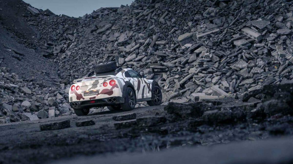 Nissan GTR Offroad 1