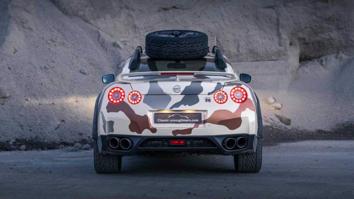 Nissan GTR Offroad 2