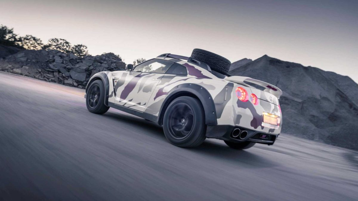 Nissan GTR Offroad 3