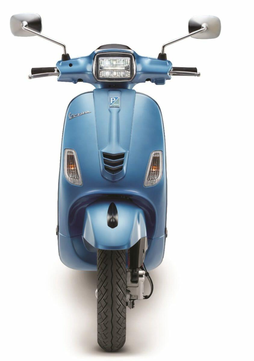Piaggio Vespa facelift