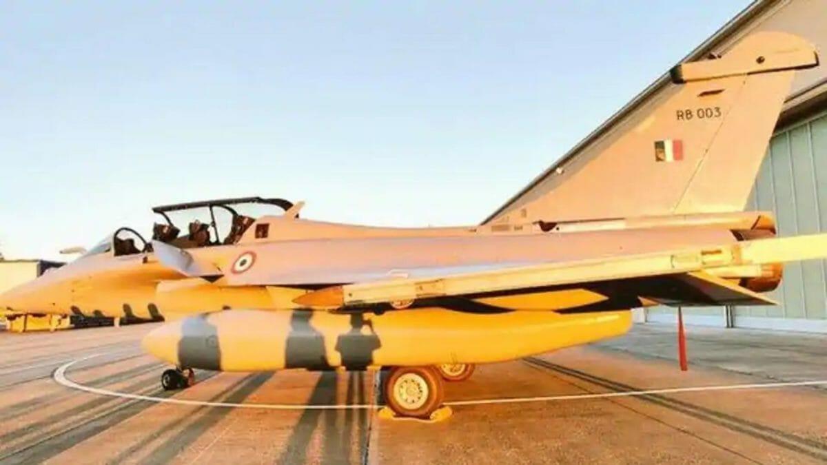 Rafale fighter jets first batch