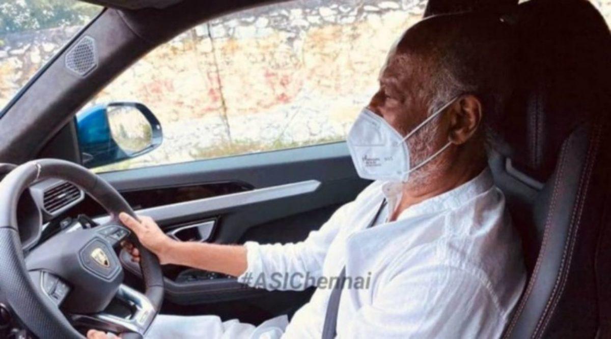 Rajnikanth Lamborghini Urus