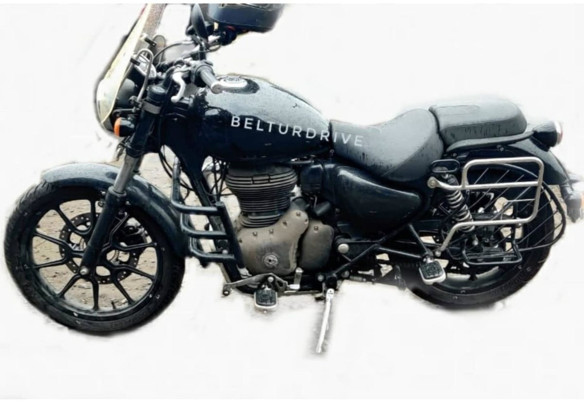Royal Enfield Meteor 350 spied again