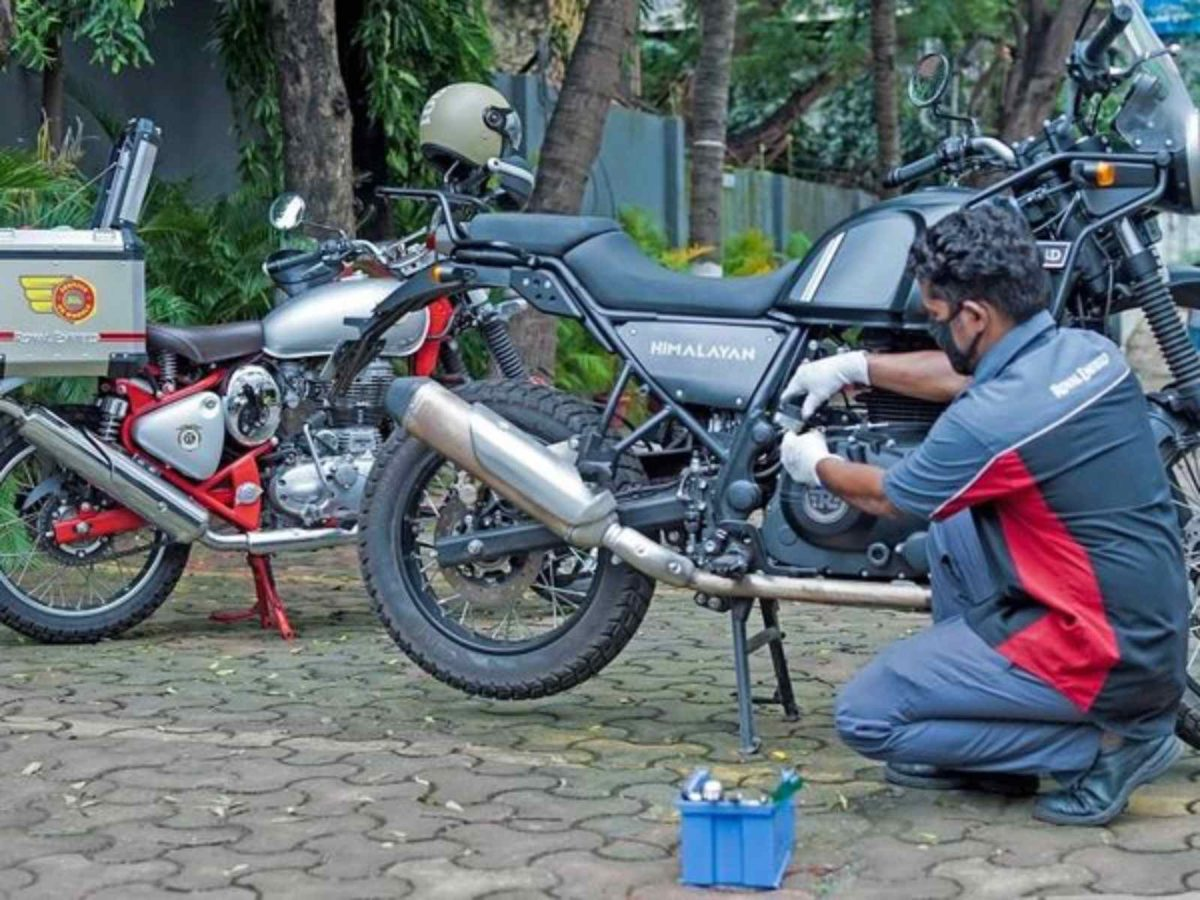 Royal Enfield Service on wheels 1