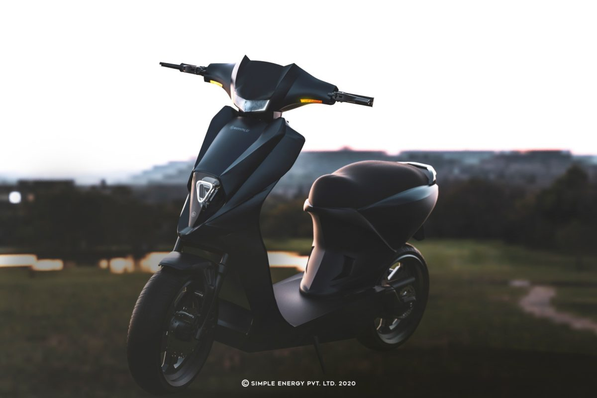 Simple energy electric scooter profile