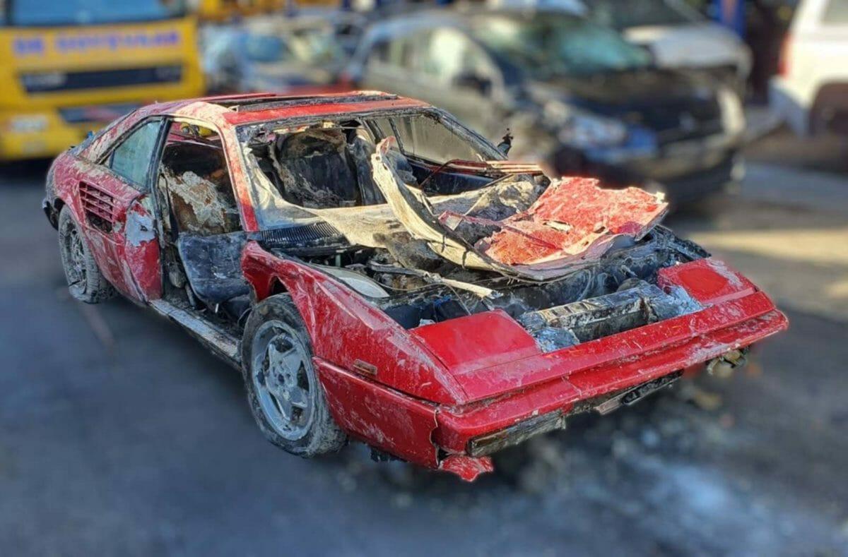 Stolen Ferrari Mondial recovered 1