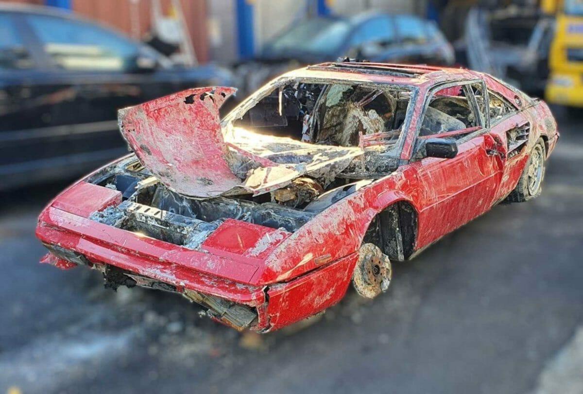 Stolen Ferrari Mondial recovered